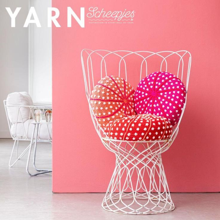 YARN7 Urchin Cushions